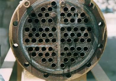 Heat exchanger after installation of Hydropath